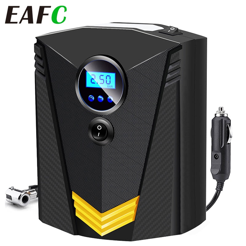 Portable Car Air Compressor DC 12V Digital Tire Inflator Air Pump 150 PSI Auto Air Pump for Car Motorcycle LED Light Tire Pump