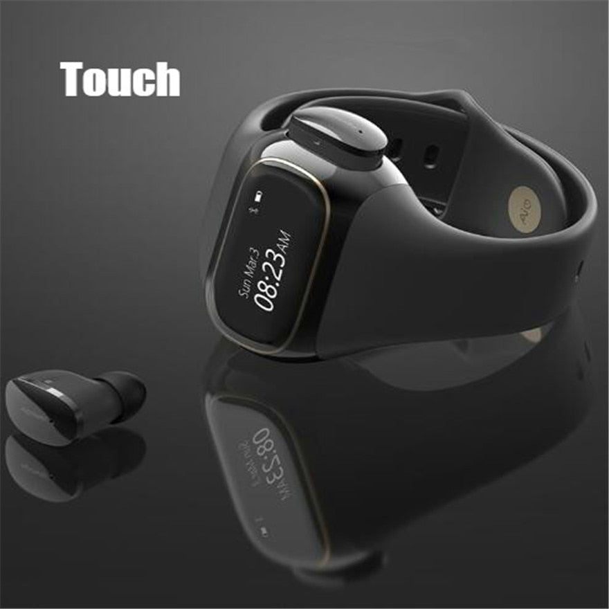 HI-FI headset  Smart Watch men Heart Rate Blood Pressure Waterproof Sports Women Fitness Tracker For IOS Android iPhone