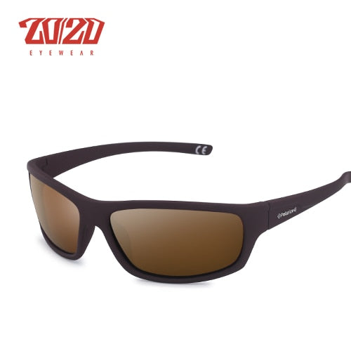 20/20 Optical Brand Design New Polarized Sunglasses Men Fashion Male Eyewear Sun Glasses Travel Fishing Oculos PL66 With Box