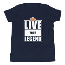Load image into Gallery viewer, Live Your Legend Hoops Youth Tee