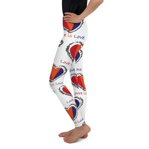 Love is love YOUTH Leggings