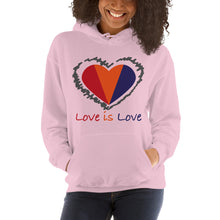 Load image into Gallery viewer, BFCM Love is Love Unisex Hoodie