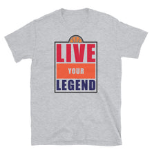 Load image into Gallery viewer, TDK Colorway Hoops Live Your Legend Unisex Tee