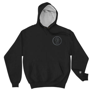 Black Power Fist Champion Hoodie