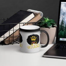 Load image into Gallery viewer, Natural Queen Matte Black Magic Mug