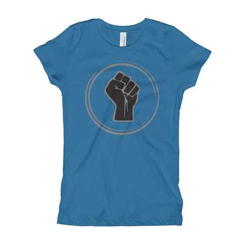 TDK Black Power Fist Youth Girl's Tee