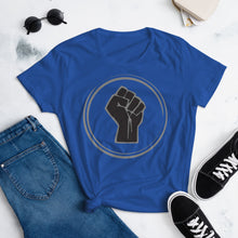 Load image into Gallery viewer, TDK Black Power Fist Women's Fit Tee