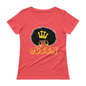 Natural Queen Ladies' Scoopneck Tee