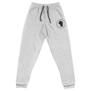 Black Power Fist Unisex Joggers