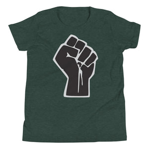 Black Power Fist Youth Tee