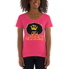 Load image into Gallery viewer, Natural Queen Ladies' Scoopneck Tee