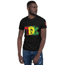 Load image into Gallery viewer, TDK BHM logo Short-Sleeve Unisex T-Shirt