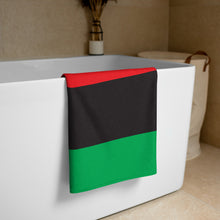 Load image into Gallery viewer, TDK Black Power Beach Towel