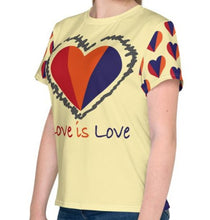 Load image into Gallery viewer, Love is Love Youth T-Shirt