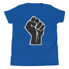 Load image into Gallery viewer, Black Power Fist Youth Tee