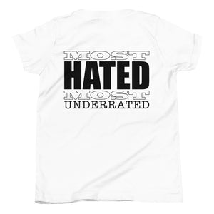 Underdog Most Hated YOUTH Unisex Tee
