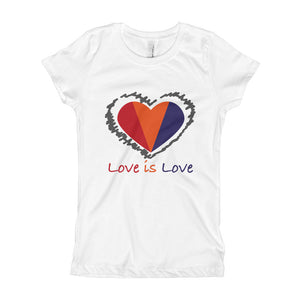 Love is Love Girl's T-Shirt