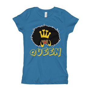 Natural Queen Slim-Fit YOUTH Girl's Tee