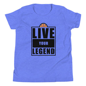 Live Your Legend Hoops Youth Tee