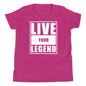 Live Your Legend Youth Tee