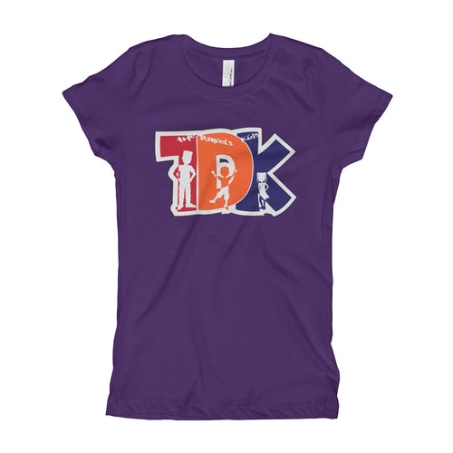 Classic TDK Logo Youth Girl's Slim Fitted Tee