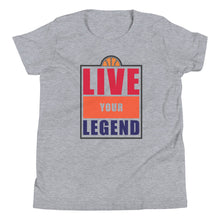Load image into Gallery viewer, TDK Colorway Hoops Live Your Legend Youth Tee