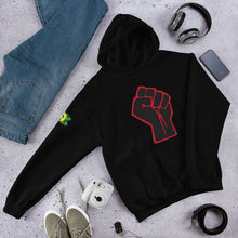 Load image into Gallery viewer, TDK Black Power Fist Unisex Hoodie
