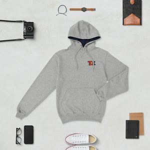 TDK Classic logo Embroidered Champion Hoodie
