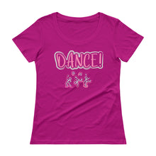 Load image into Gallery viewer, Dance Like No One is Watching Ladies' Scoopneck T-Shirt