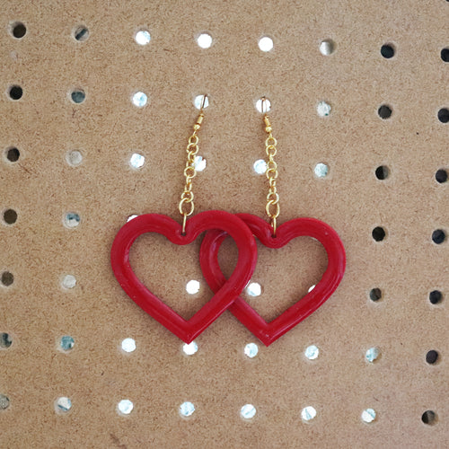 XL Heart Dangles