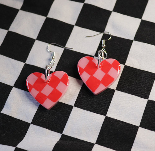 Checkerboard Petites in 'Strawberry'