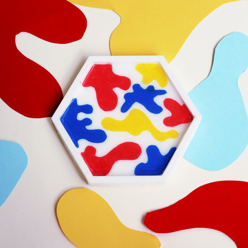 Primary Matisse Coasters