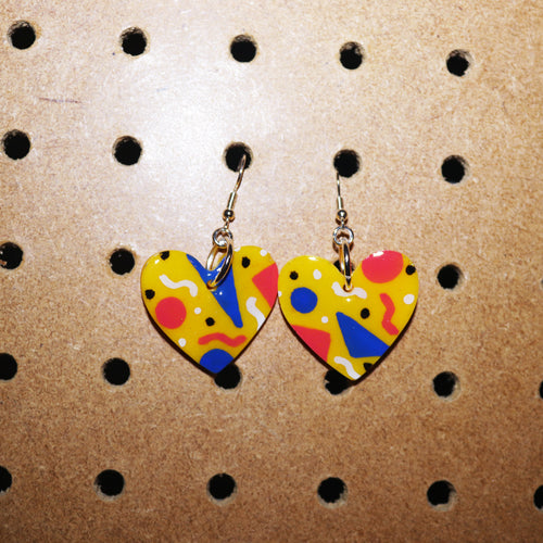 Memphis Petite Hearts in Yellow