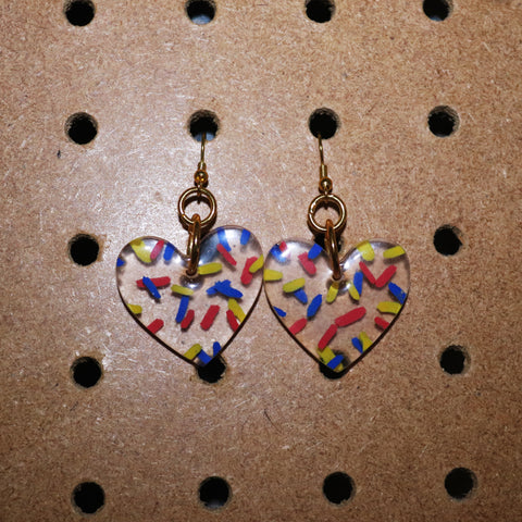 Primary Sugar Sprinkle Petite Hearts
