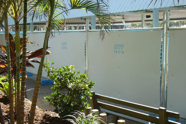 ATF Construction Hoardings Hire. Made to Australian standards and the toughest conditions.