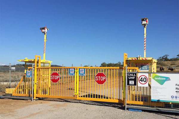 Solar Gates Hire. Green solution for off-the-grid security gates. Hire from ATF Vision