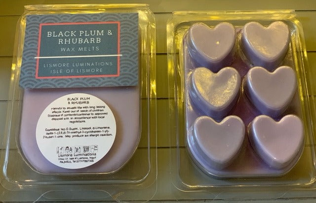 WAX MELTS - Black Plum & Rhubarb