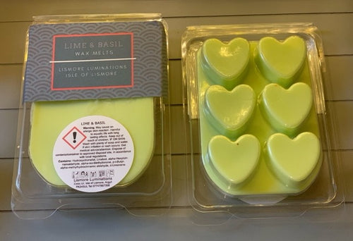 WAX MELT - Lime & Basil
