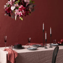 Load image into Gallery viewer, French Country Everyday Linen Tablecloth in Dusk Pink
