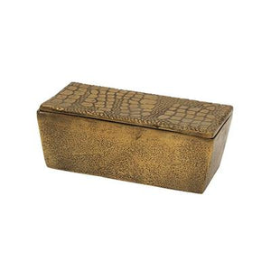 French Country Snake Rectangle Box