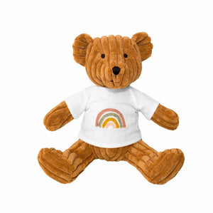 Lily & George Bear Rainbow in Nutmeg