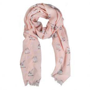 Wrendale Designs by Hannah Dale Some Bunny Scarf