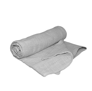 Lily & George Grey Muslin Blanket