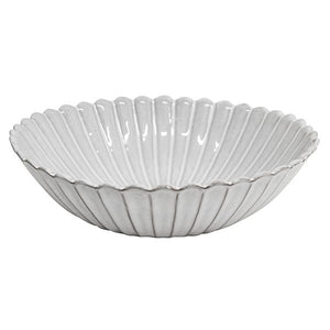 French Country Collections Iris Fluted Salad Bowl