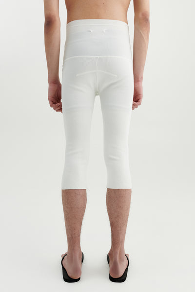 Load image into Gallery viewer, Biker legging white
