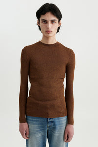 Alice silk pullover Bronze