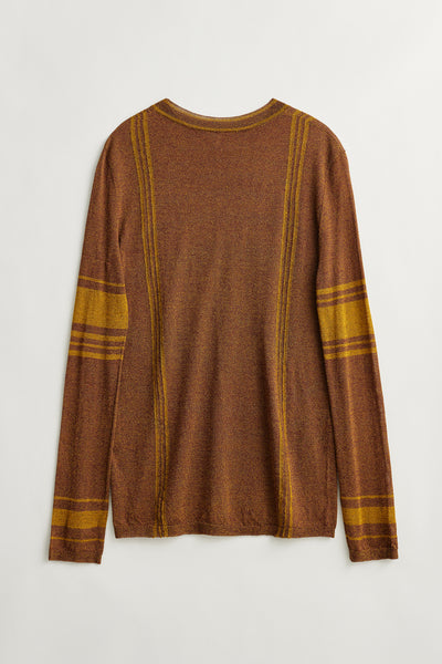 Load image into Gallery viewer, Jacobi silk pullover Gild