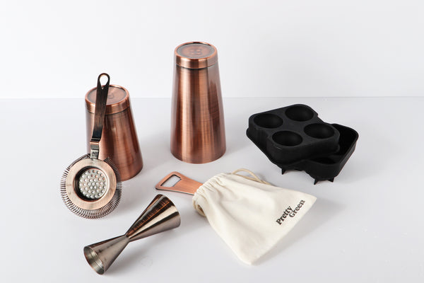 Bar accessories and shaker set