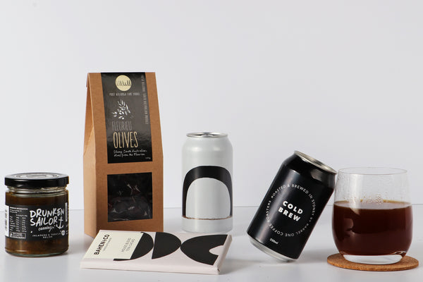 Coffee and beer hamper for Father's Day