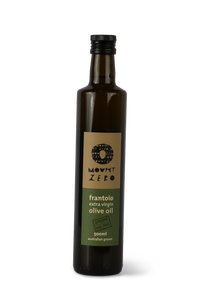 Frantoio extra virgin olive oil by Mount Zero